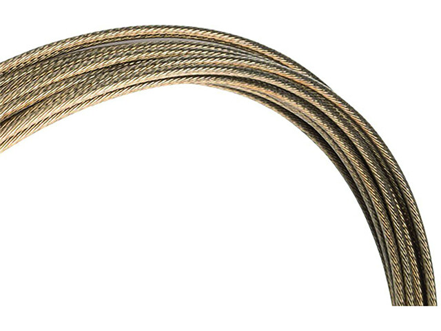 Jagwire Pro-Slick Shift Cable 2300mm For Campagnolo Polished bronze